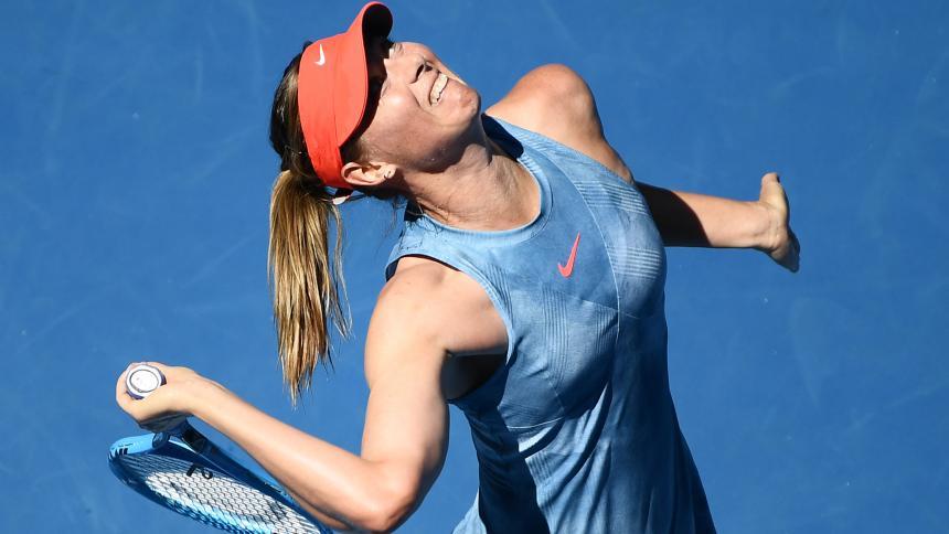 Maria Sharapova, sin piedad en el inicio del Abierto de Australia