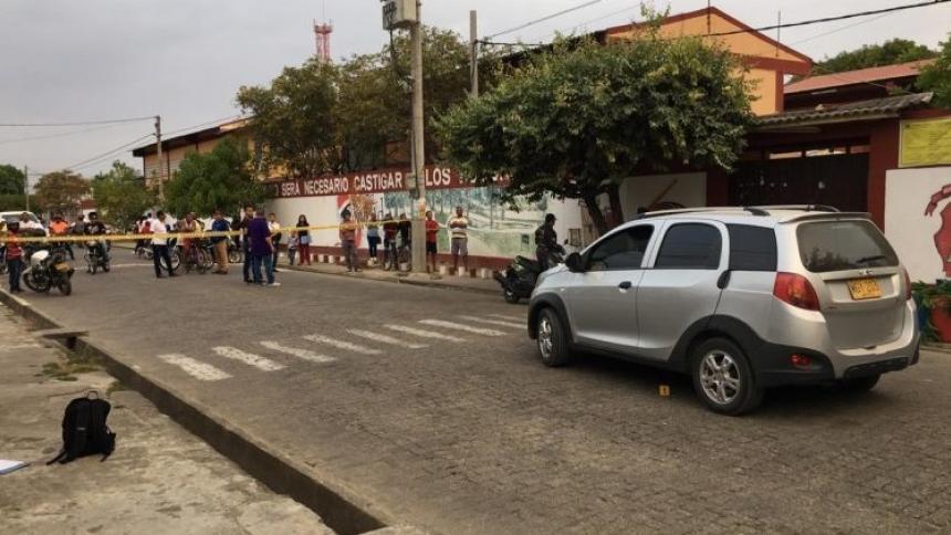 Estudiantes temen ir a clases por atentado contra madre de familia en Montería