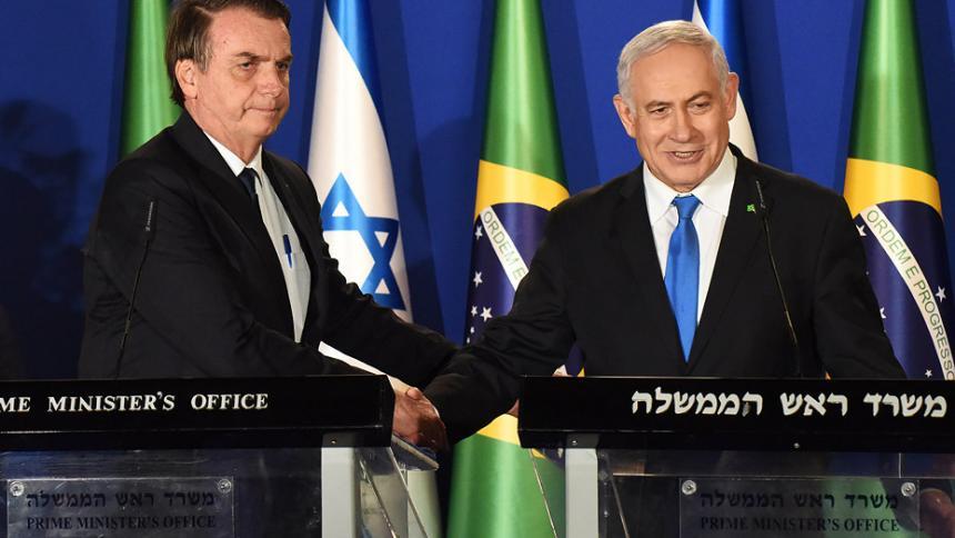 """Brasil podría establecer """"oficina de negocios"""" en Tel Aviv"""