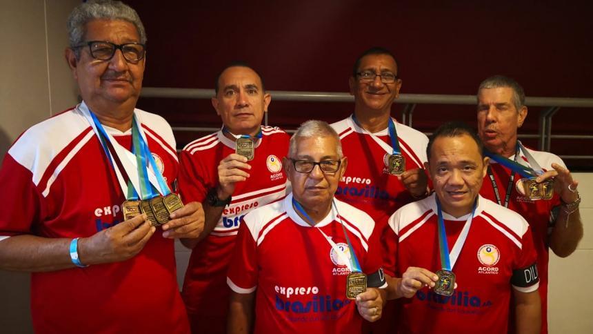 ¡A jugar se dijo!   Acord Atlántico gana cuatro oros en Bucaramanga