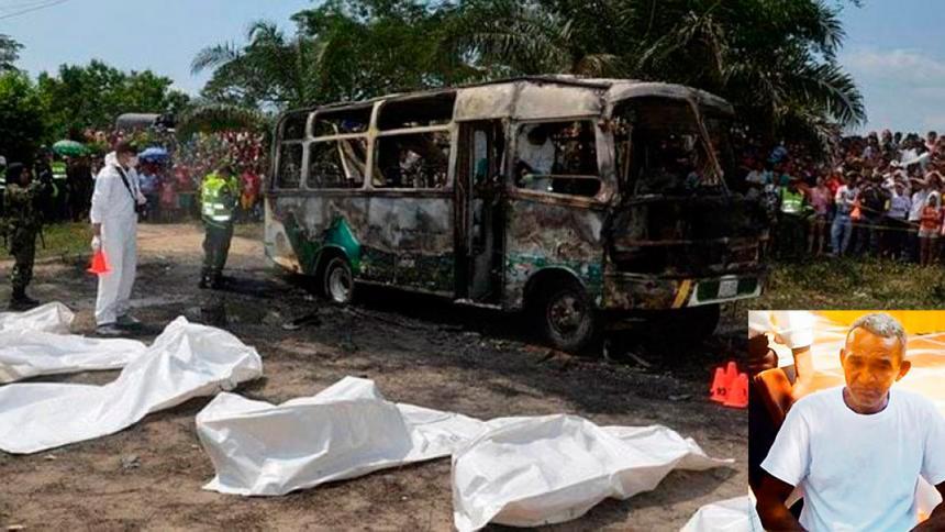 En video | Recapturan en Bogotá a chofer de bus en donde murieron quemados 33 niños en Fundación