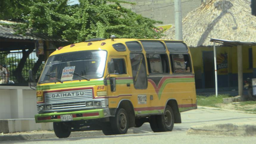 En Sincelejo, el transporte público masivo no pasa la prueba