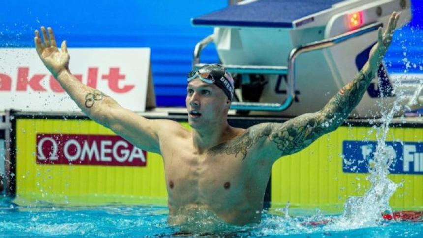 Dressel sigue deslumbrando y arrebata un récord mundial a Phelps
