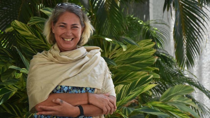 La escritora cubana nacida en San Petersburgo, Anna Lidia Vega Serova.