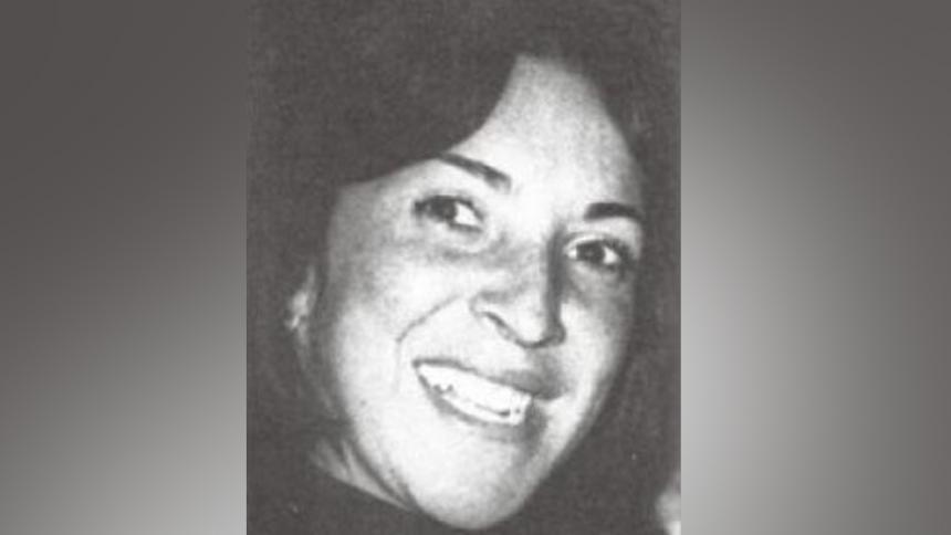 Gloria Anzola de Lanao, desaparecida del Palacio de Justicia.