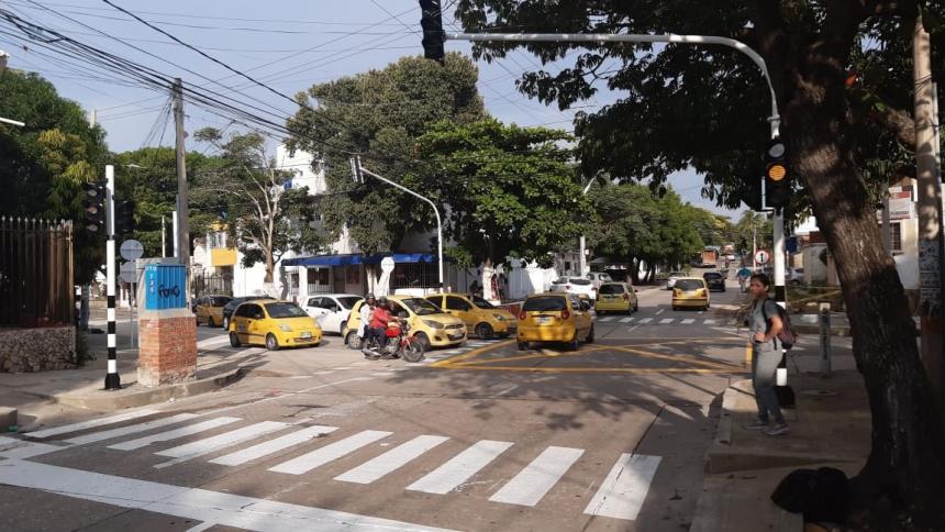 El semáforo fue instalado en la intersección de la calle 59 con carrera 47.