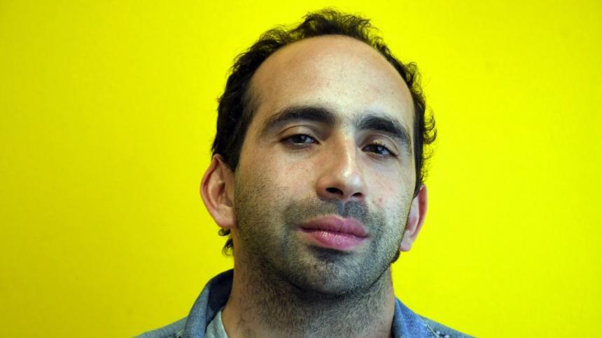 El escritor barranquillero Giuseppe Caputo, autor de ‹Un mundo huérfano› (Random House).