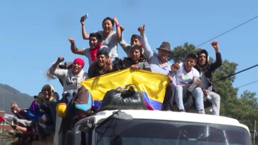 En video   Ecuador recupera la calma tras protestas por eliminación de subsidios