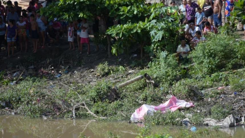 El cuerpo del menor fue hallado en el Caño de la Ahuyama.