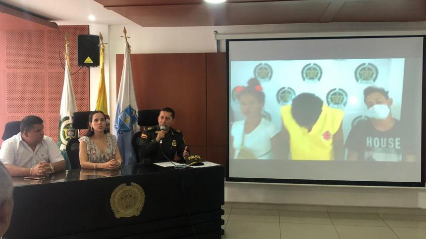 En video | Atraparon a 'Los de la Colina', el terror de comerciantes y taxistas en Santa Marta