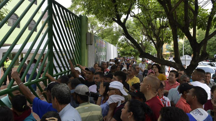 Falta de tarjetones, el lunar de las elecciones en Barranquilla