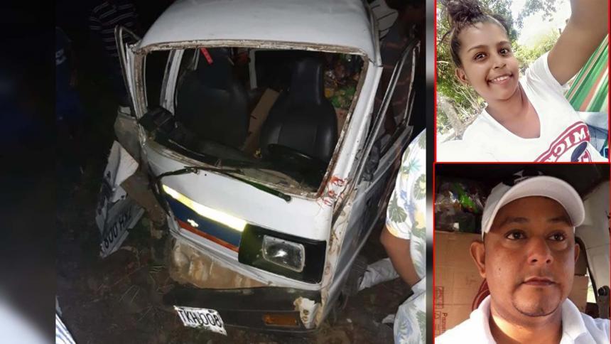 Lo matan a bala mientras conducía, su acompañante murió en el choque