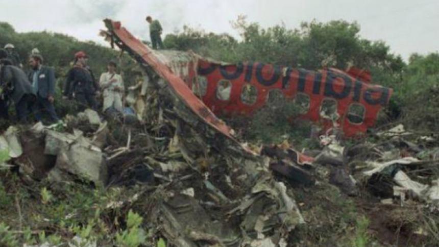 30 años del fatídico vuelo 203 de Avianca