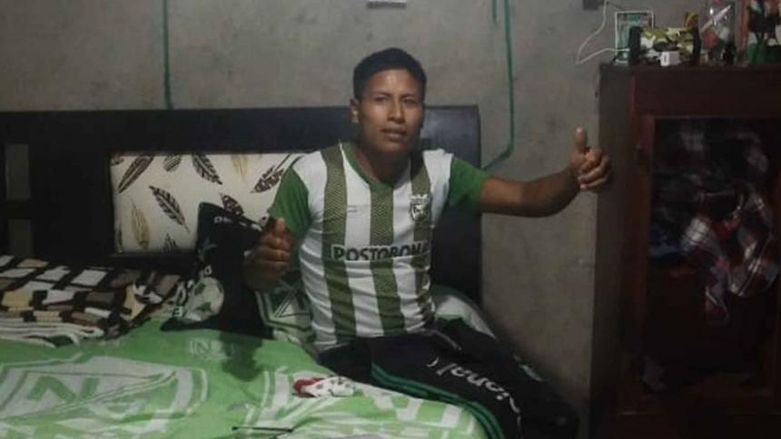 Cristian Andrés Vitonas Yatacué, comunero indígena asesinado.