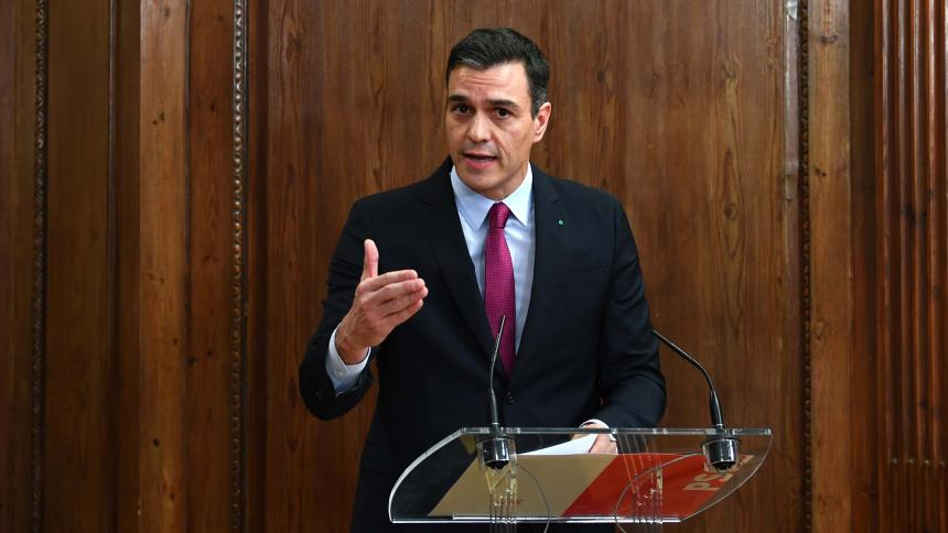 Pedro Sánchez se encamina a la reelección en el Congreso español