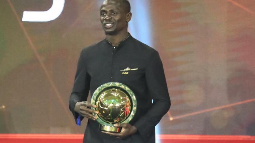 Sadio Mané, elegido mejor jugador africano de 2019