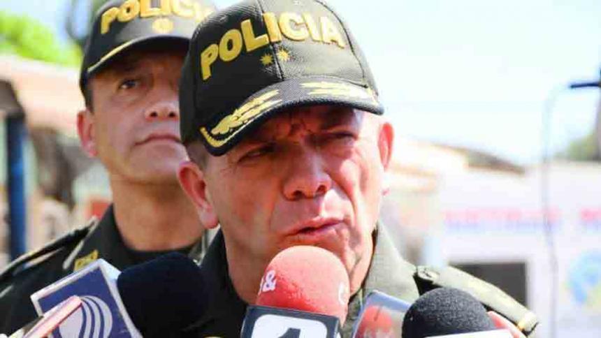 General Ricardo Alarcón, Comandante Policía Metropolitana.