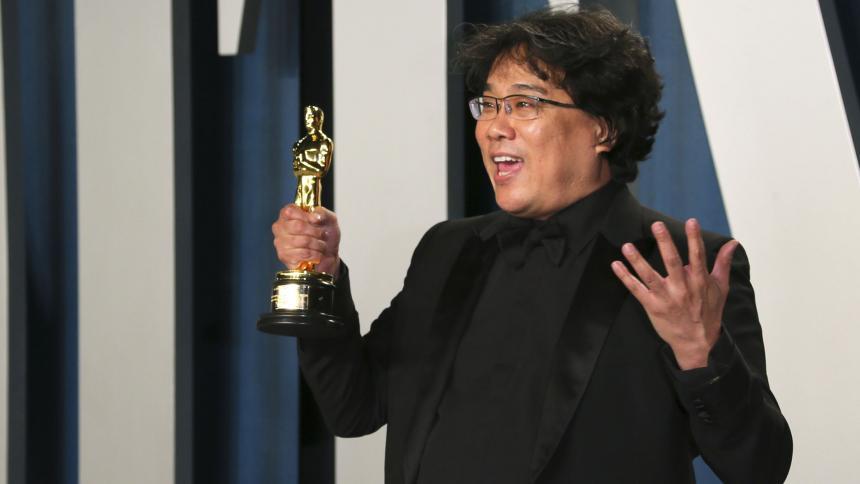 El director de Parásito  Bong Joon-ho.