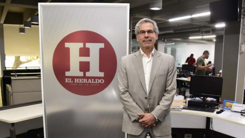 Yesid Reyes, exministro de Justicia.