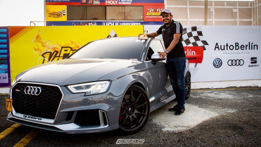 Hernán Gutiérrez fue el piloto más rápido en la tercera válida de Piques