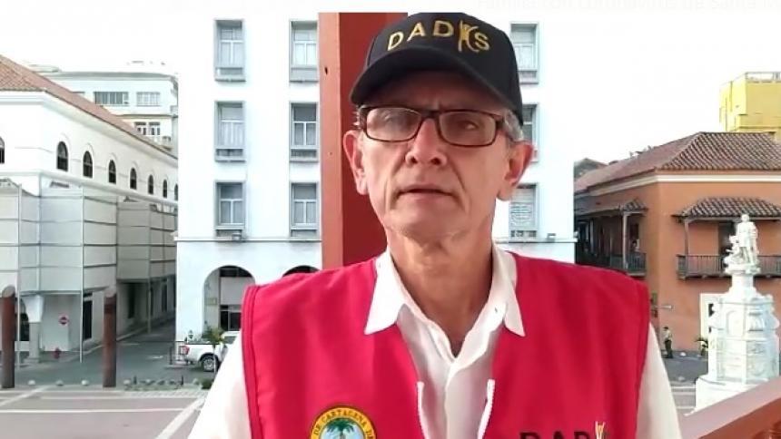 Alvaro Fortich, director del Dadis.