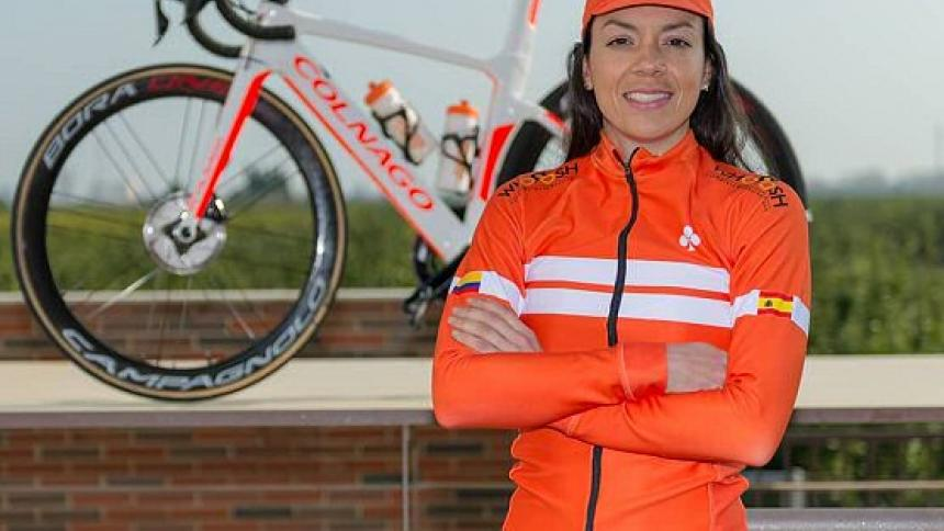 La colombiana Carolina Upegui realiza en Valencia un máster en International Sports Management.