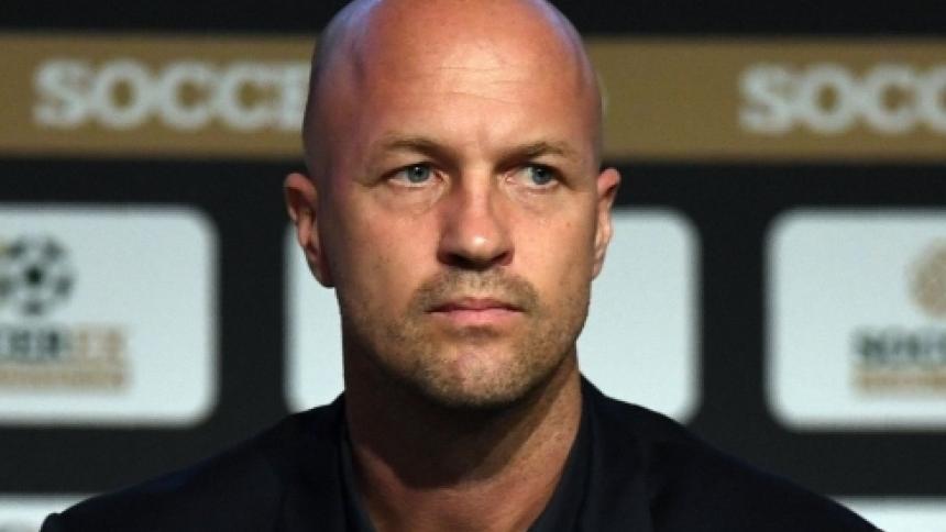 Jordi Cruyff, entrenador de la selección de Ecuador.