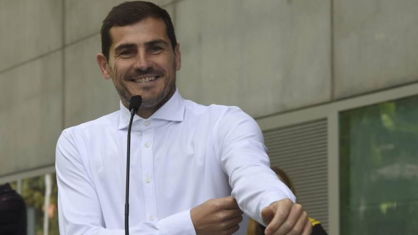 El cancerbero Iker Casillas