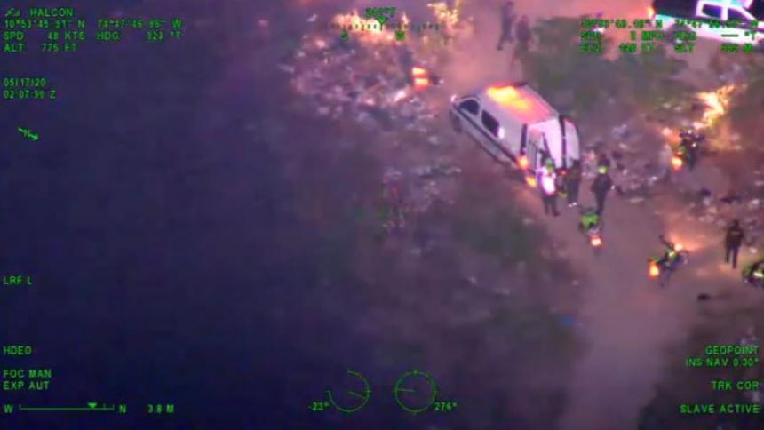 En video | Ataque a bala en Soledad deja dos muertos y dos capturados