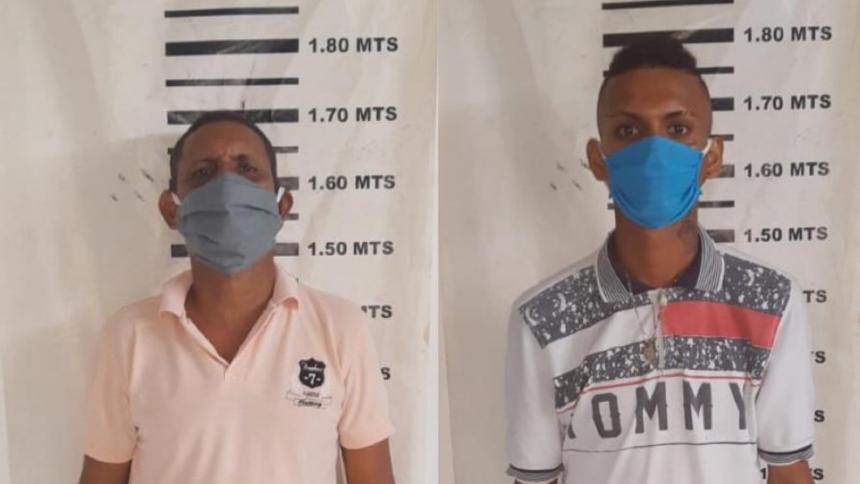 Capturados por el homicidio de Osnaider De Jesús Arrieta Estrada.