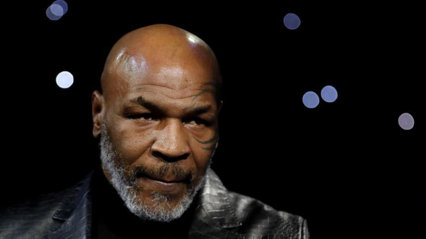 El exboxeador estadounidense Mike Tyson.