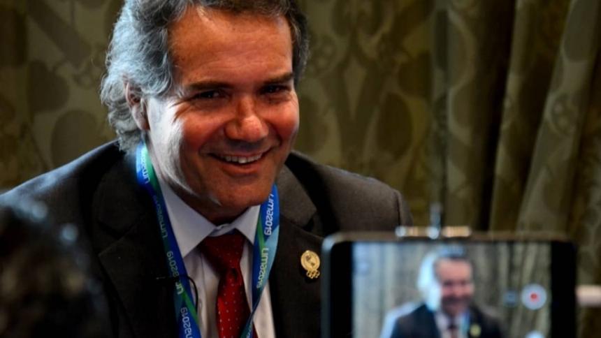 El chileno Neven Ilic Álvarez, presidente de Panam Sports.