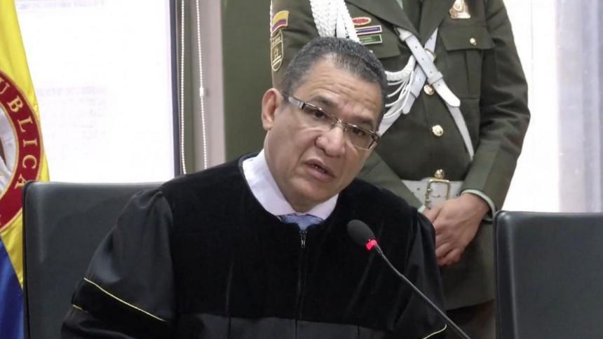 Magistrado Gustavo Mola.