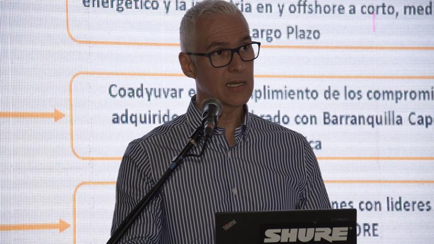 Alberto Vives de la Espriella, gerente seccional de la Andi Atlántico.