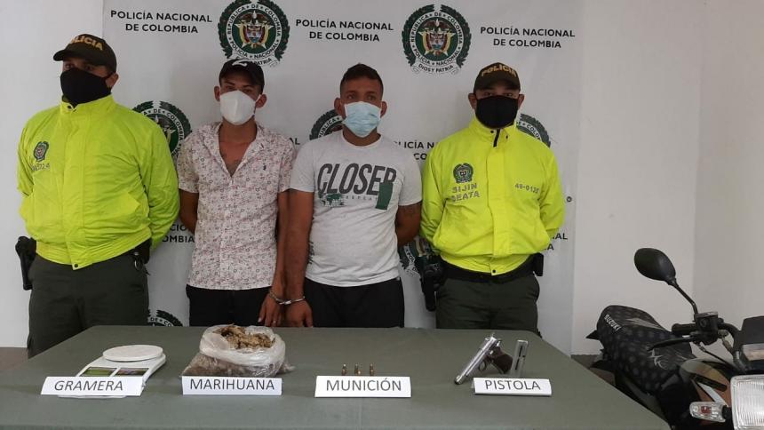 Capturados en Baranoa por millonario robo en una casa