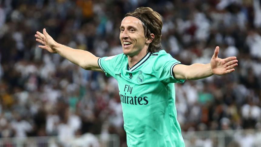 El croata Luka Modric.