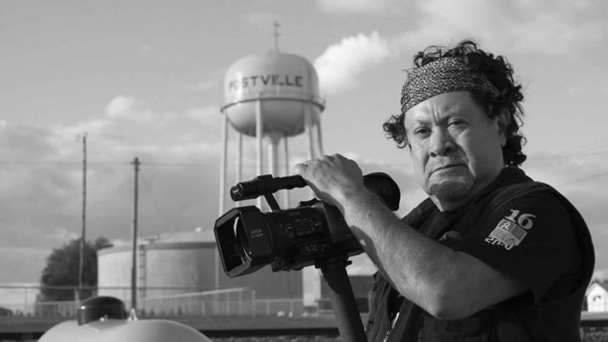 El director de cine guatemalteco Luis Argueta.