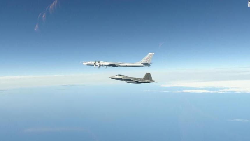 EE.UU. intercepta cuatro aviones rusos cerca de Alaska