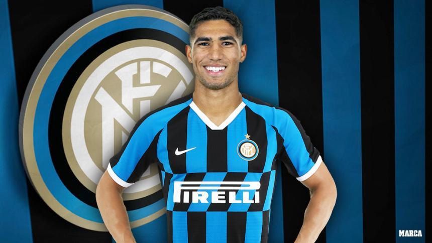 Achraf defenderá los colores del Inter de Milán.