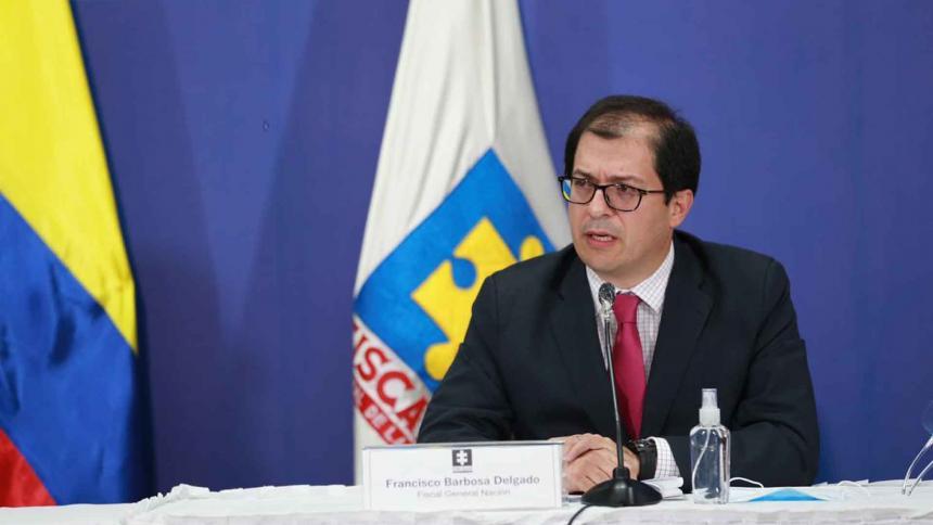 Fiscal Francisco Barbosa.