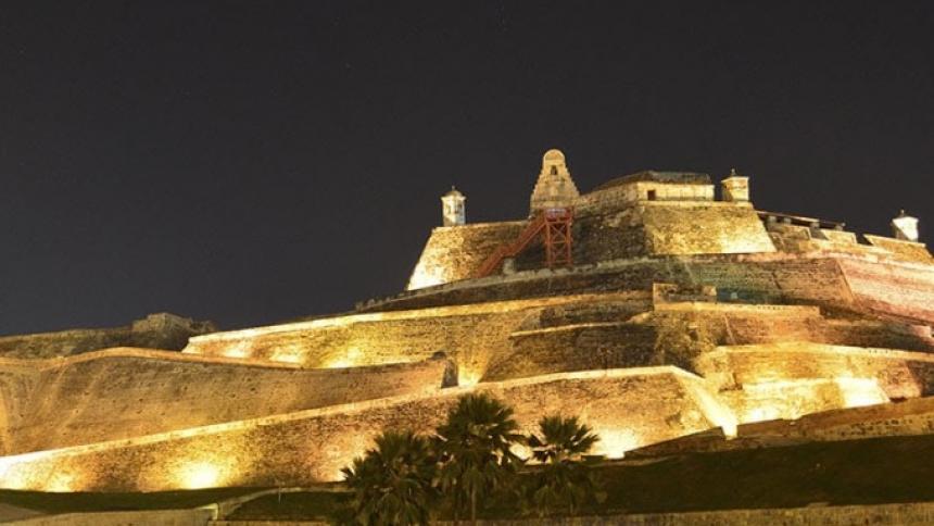 El Castillo de San Felipe de Cartagena.