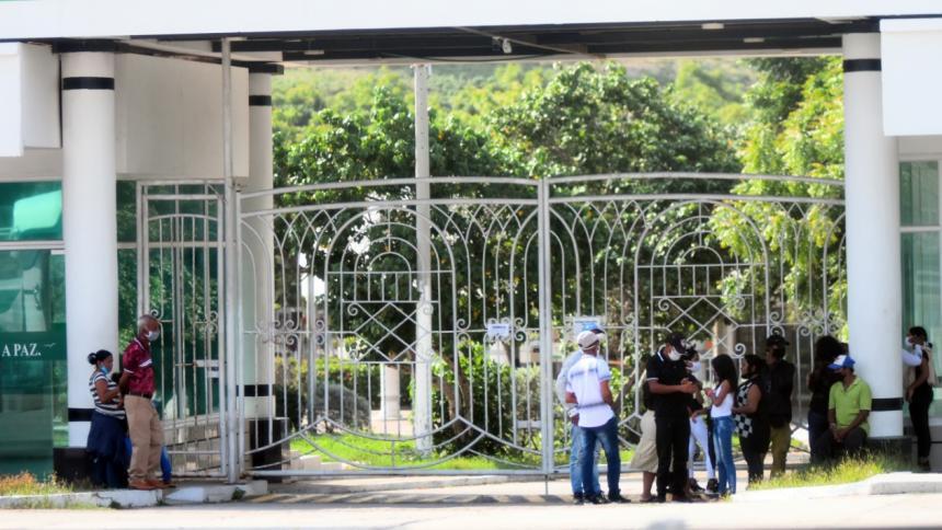 Cementerio en Puerto Colombia.