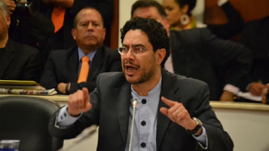 Iván Cepeda, senador del Polo Democrático.