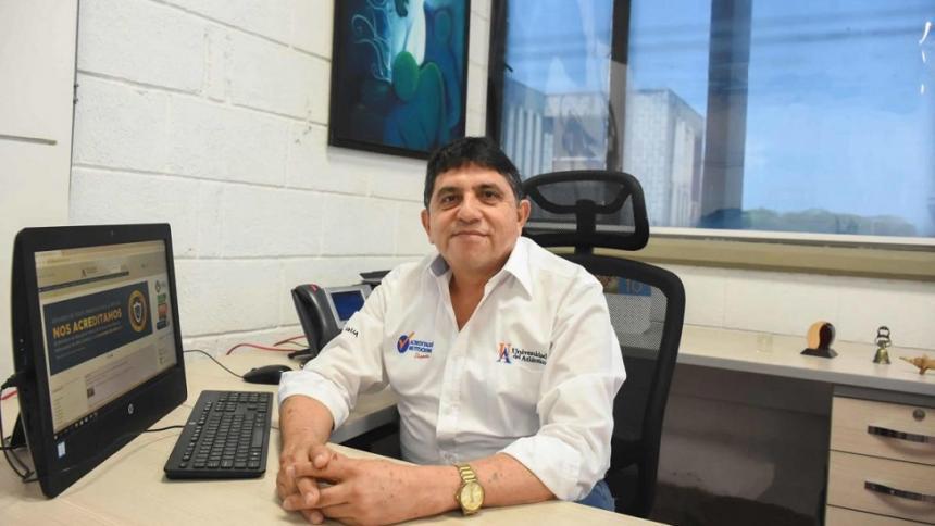 José Rodolfo Henao Gil , nuevo rector (e) de Uniatlántico.