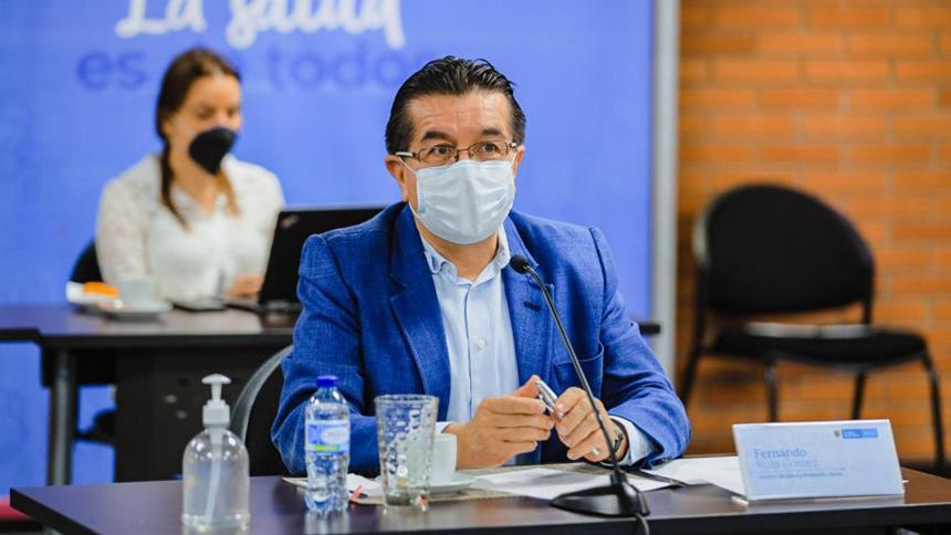 Ministro de Salud.