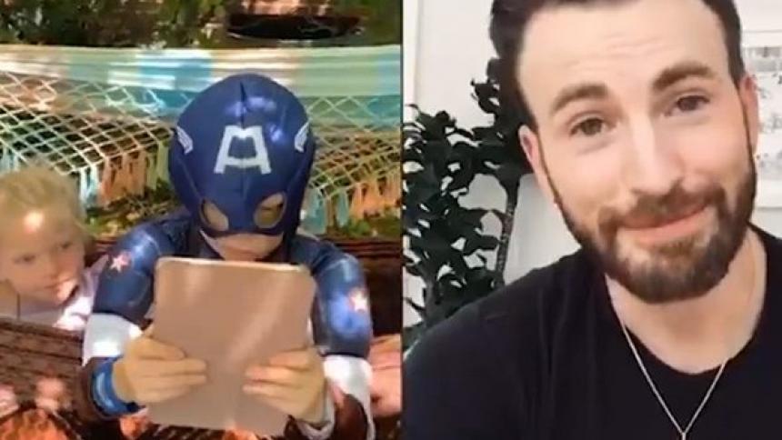 Niño que salvó a su hermana recibirá el escudo del Capitán América