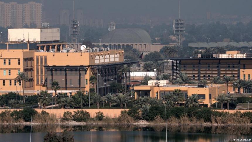 Embajada de Estados Unidos en Bagdad.