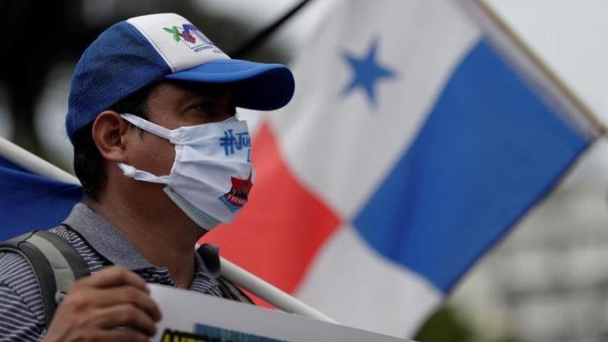 Panamá vive una crisis sanitaria, económica y social por el coronavirus.