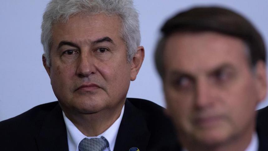 Un quinto ministro de Bolsonaro da positivo de coronavirus