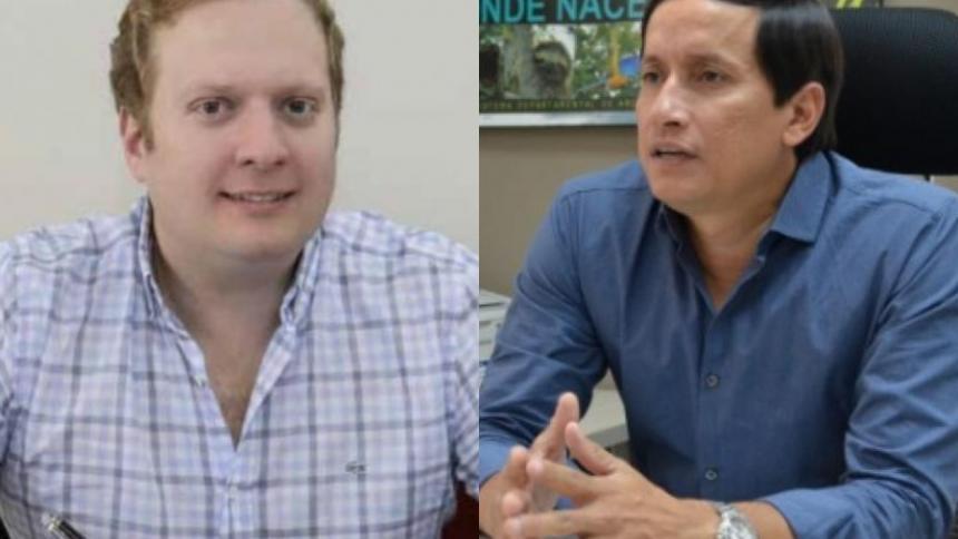 Rachid Nader y Alberto Escolar.